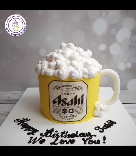 Beer Themed Cake - Beer Mug - 3D Cake