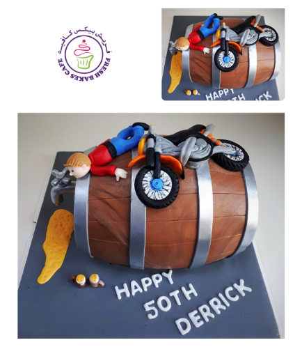 Beer Themed Cake 05