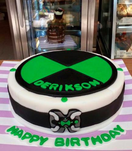 Ben 10 Themed Cake 01