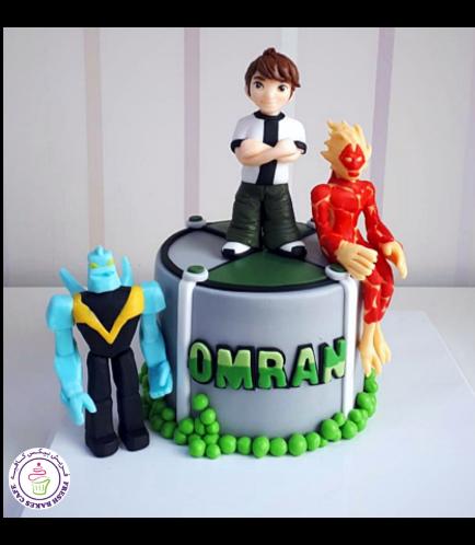 Ben 10 Themed Cake 02