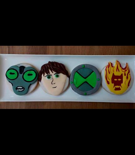 Ben 10 Themed Cookies