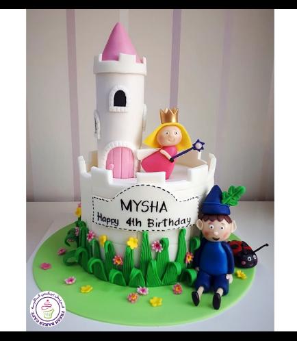 Ben & Holy's Little Kingdom Themed Cake 03