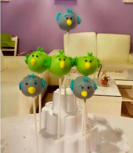 Bird Themed Cake Pops