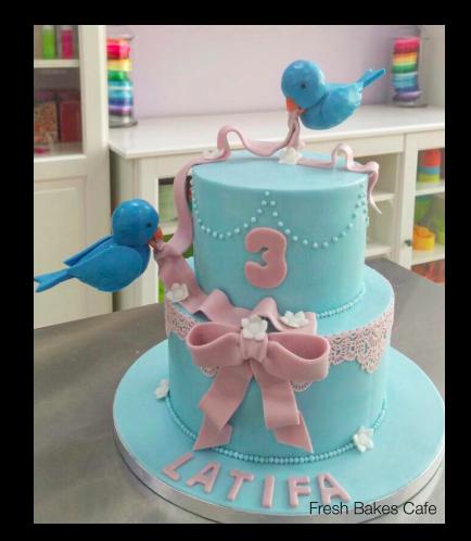 Bird Themed Cake 03