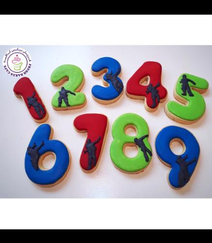 Cookies - Birthday Numbers
