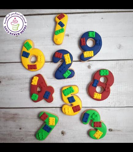 Cookies - Birthday Numbers - LEGO