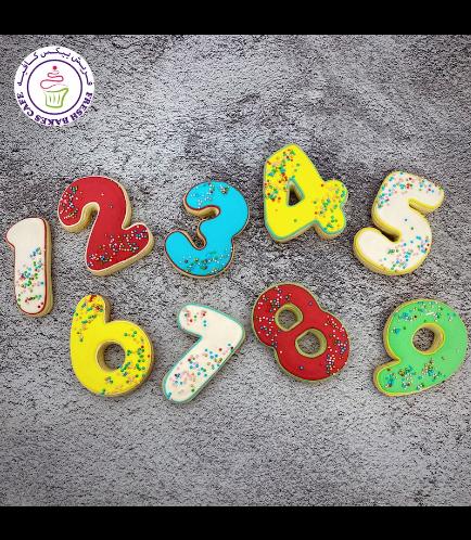 Cookies - Birthday Numbers - Sprinkles 02