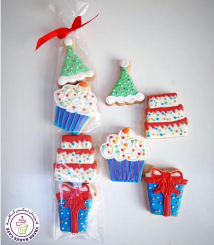 Birthday Themed Cookies - Minis 03