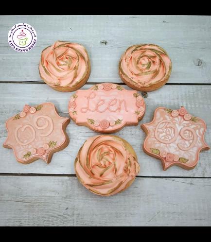Cookies - Flowers - Birthday Cookies