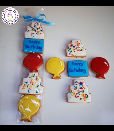 Birthday Themed Cookies - Minis 02