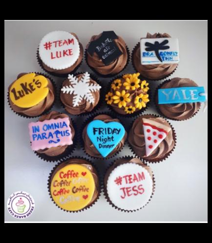 Birthday Themed Cupcakes