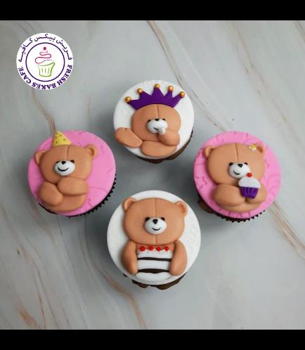 Birthday Themed Cupcakes - Bears