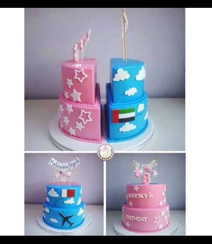 Cake - Stars & Travel