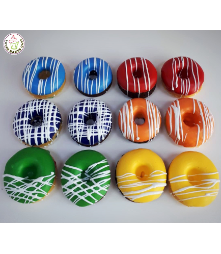 Colorful Donuts 08