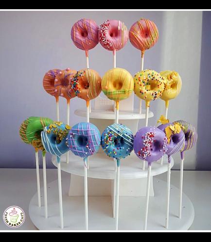 Bite-Sized Donuts on Sticks 3