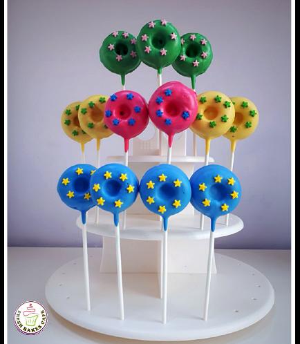 Donut Pops - Star Sprinkles