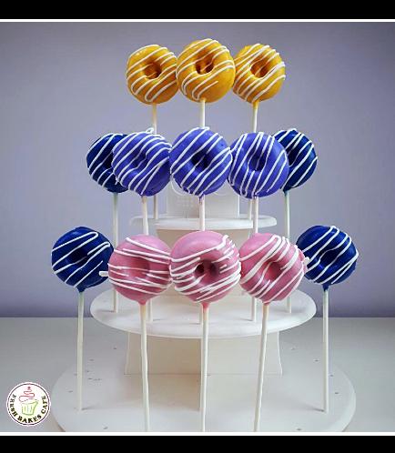 Bite-Sized Donuts on Sticks 5