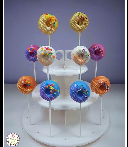 Bite-Sized Donuts on Sticks 6