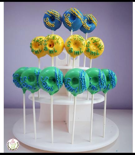 Colorful Donut Pops - Name 01