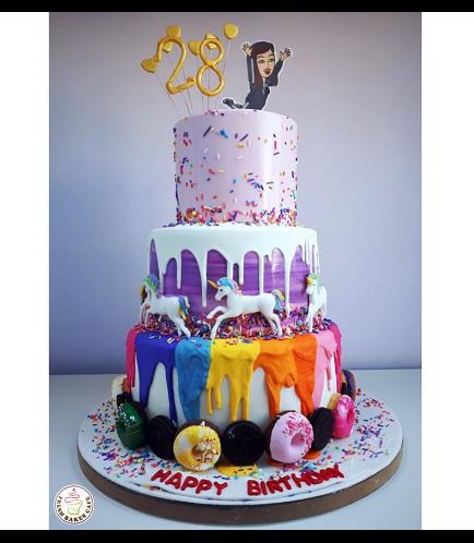 Cake - Bitmoji & Unicorn