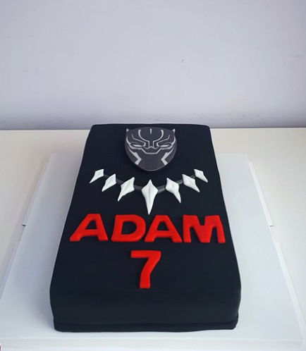 Black Panther Themed Cake 01