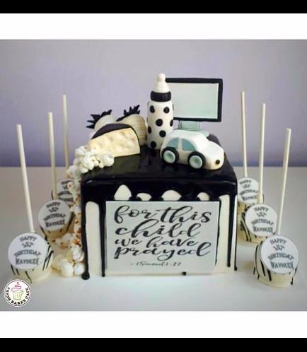 Cake & Cupcakes - Black & White