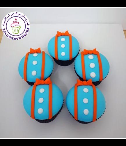 Blippi Themed Cupcakes