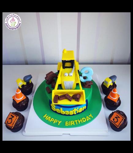 Bob the Builder Themed Cake - Scoop 1b