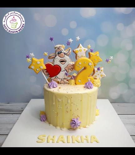 Booba Themed Cake - Cookies