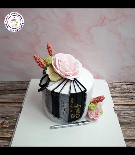 Cake - Flowers & Glasses