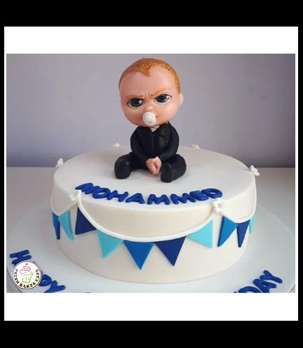 Boss Baby Themed Cake 01c
