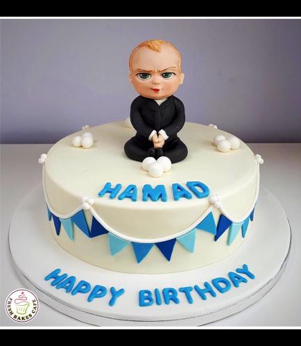 Boss Baby Themed Cake 01b
