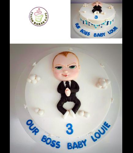 Boss Baby Themed Cake 02