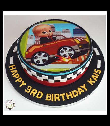 Boss Baby Themed Cake 04