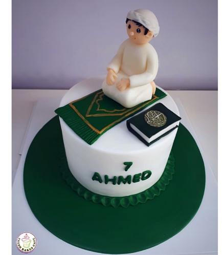 Praying Themed Cake - Boy Praying