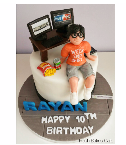 Video Games Themed Cake 01