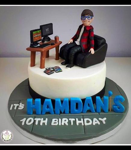 Boy Themed Cake 03