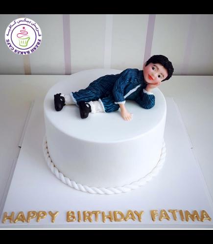 Boy Themed Cake 01