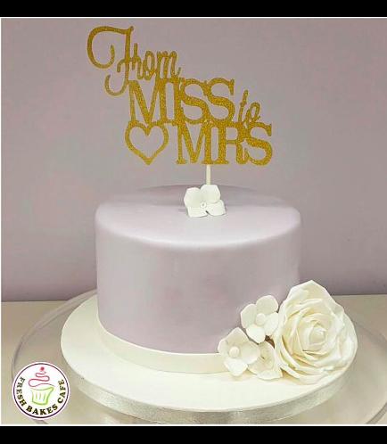Bridal Shower Themed Cake 08