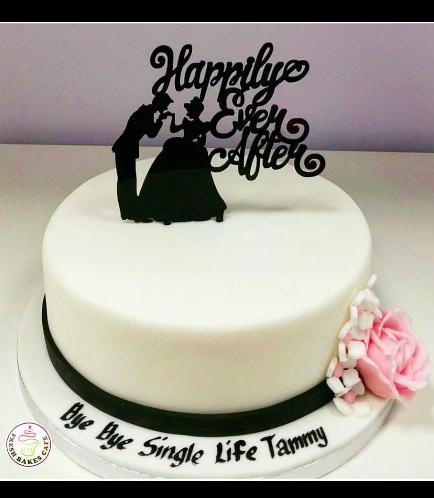 Bridal Shower Themed Cake 10
