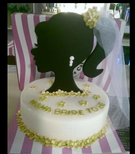 Bridal Shower Themed Cake 01