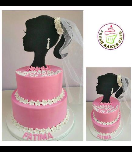 Bridal Shower Themed Cake 03
