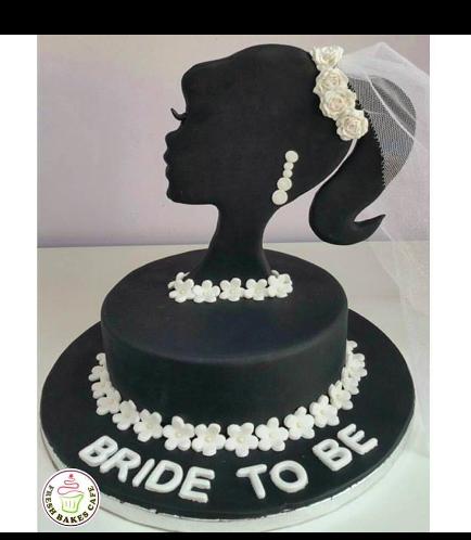 Bridal Shower Themed Cake 04