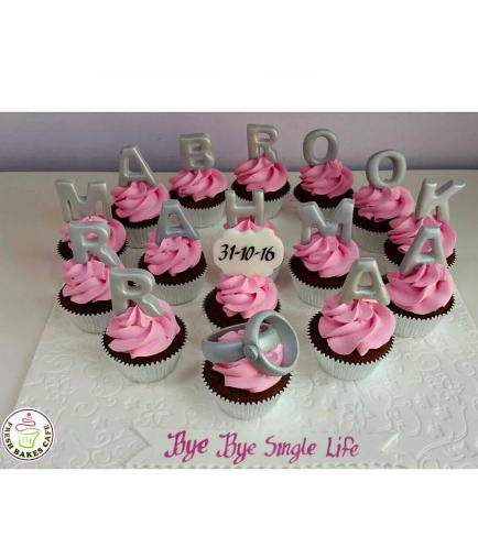 Bridal Shower Themed Cupcakes 02a