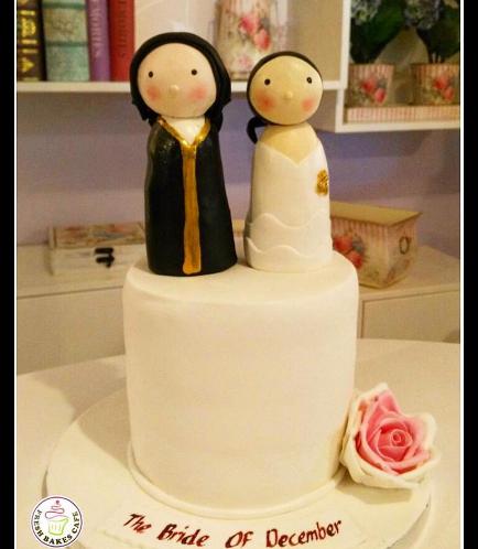 Bridal Shower Themed Cake 09