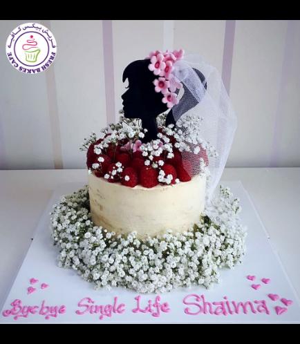Bridal Shower Themed Cake 11b