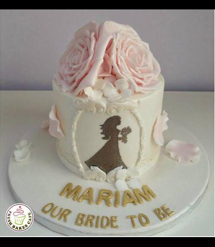 Bridal Shower Themed Cake 14