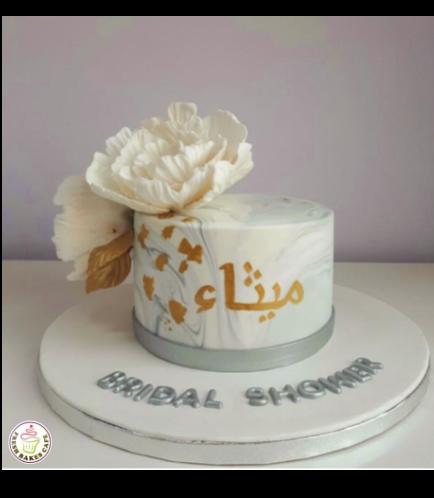 Bridal Shower Themed Cake 19