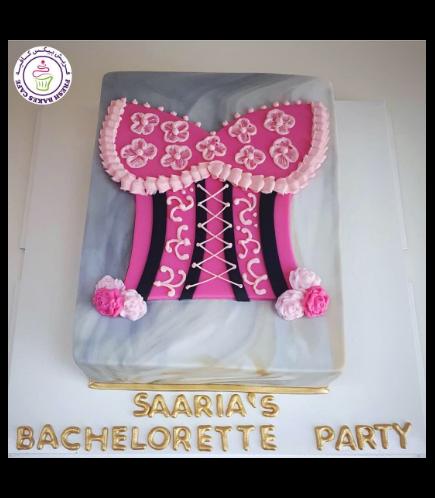 Bridal Shower Themed Cake 30b