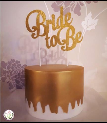 Bridal Shower Themed Cake 24b